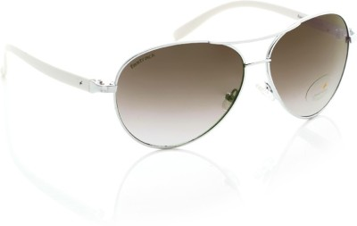 Fastrack C053BK2F Aviator Sunglasses(Brown)