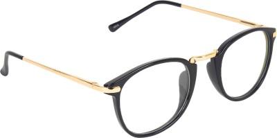 Zyaden FAFR208 Round Sunglasses(Clear)