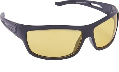Blackburn Bb_WABLACK Wrap-around Sunglasses(Yellow)