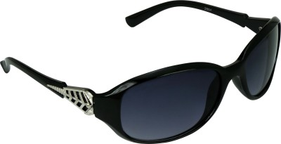 Garmor (8903522114656 /Black Color Black Frame) Oval Sunglasses