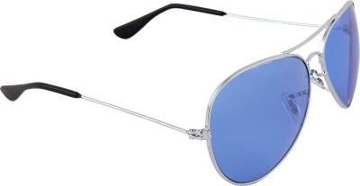 Malocchio Solid Aviator Sunglasses