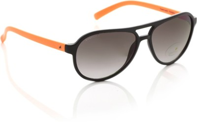 Fastrack P295BK3 Aviator Sunglasses(Violet)