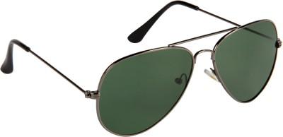 Cristiano Ronnie Gun Metal frame with Glass lenses Aviator Sunglasses