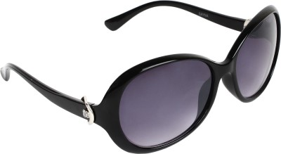 SHOPING RED Oval Sunglasses