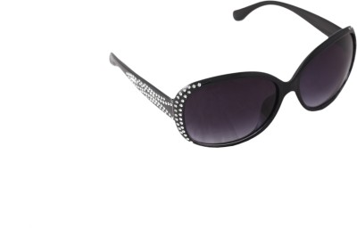 QWERTY Oval Sunglasses