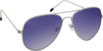 Olvin OL301-03 Aviator Sunglasses(Blue)