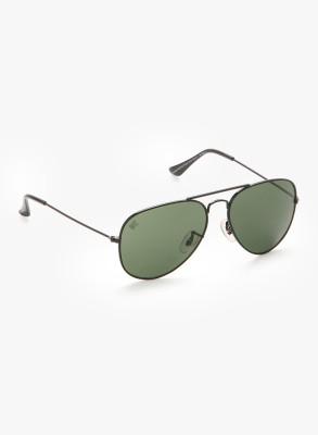 MTV MTV-123-C1 Aviator Sunglasses(Green)