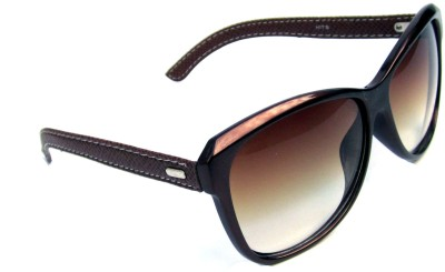 Anti Gravity Uv101brown Cat-eye Sunglasses