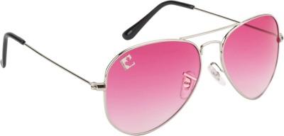 Clark n, Palmer Pink Gradient RB 721 Aviator Sunglasses