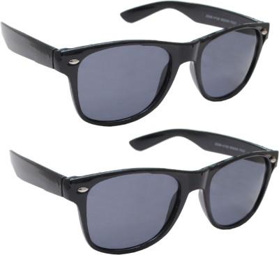 Sellebrity Elegant Combo Wayfarer Black Sunglasses Wayfarer Sunglasses