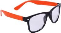 Camerii IFW3A Rectangular Sunglasses(Clear)