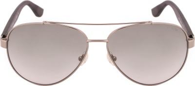 Tommy Hilfiger TH 7867 Gugn-19 C2 59 S Aviator Sunglasses(Grey) at flipkart