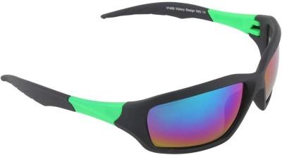 Malocchio Plain Make Sports Sunglasses