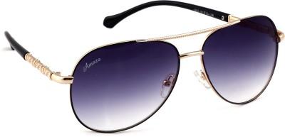 Amaze AM18021 Rectangular Sunglasses(Grey)