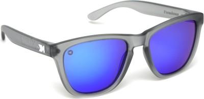 Knockaround Premiums Frosted Grey / Moonshine Wayfarer Sunglasses