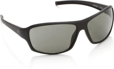 Fastrack P222GR1 Rectangular Sunglasses(Grey)