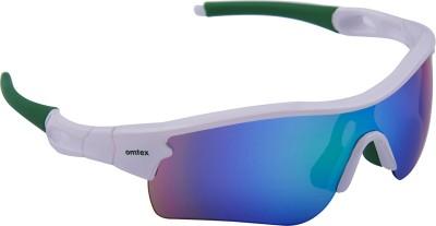 Omtex Galaxy Plus Green Sports Sunglasses