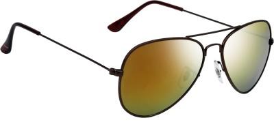 Fave FAV015 Aviator Sunglasses(Brown)