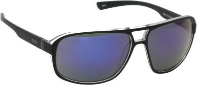 IDEE IDEE-1914-C10 Wrap-around Sunglasses(Blue, Multicolor)