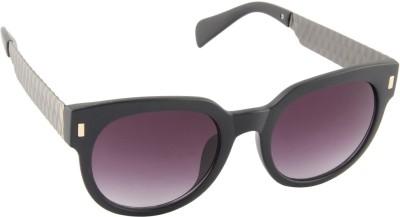 Farenheit 1517-C2 Cat-eye Sunglasses(Grey)