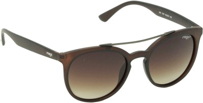 IMAGE IM-561-C3P Round Sunglasses(Brown)