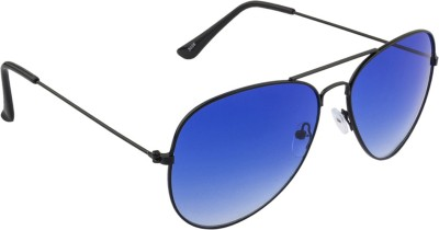 IRAYZ 1249 Aviator Sunglasses(Blue)