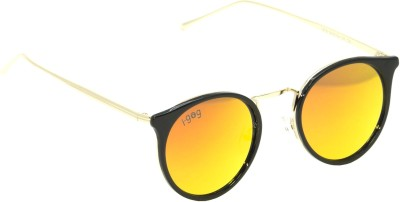 I-GOG Round Red Mirror Round Sunglasses