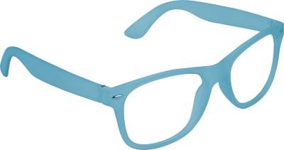 Garmor (8903522114984 /Transparent Color Blue Frame) Wayfarer Sunglasses