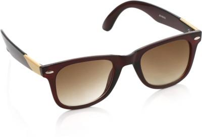 Joe Black JB-143-C3 Wayfarer Sunglasses(Brown)