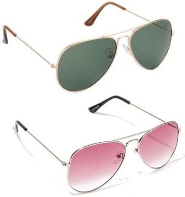 Edge Plus Aviator Sunglasses