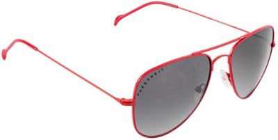 Farenheit FA-FA3001-c14 Aviator Sunglasses(Black)