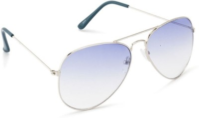 Simran SM17 Oasis Blue Aviator Sunglasses