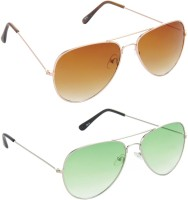 Red Leaf RCMB005_1 Aviator Sunglasses(For Boys)