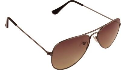 Opticalplaza Retro Polarised Aviator Aviator Sunglasses