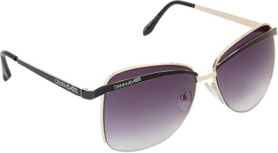 Danny Daze D-1013-C1 Over-sized Sunglasses(Black)