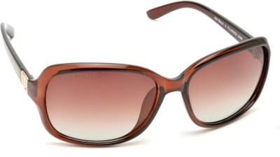 Joe Black JB-819-C3P Over-sized Sunglasses(Brown)