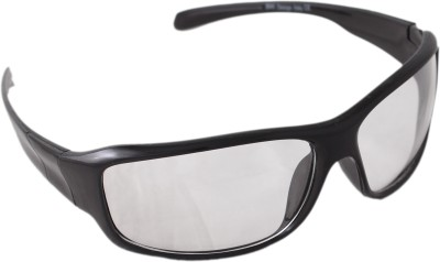 QWERTY Wrap-around Sunglasses