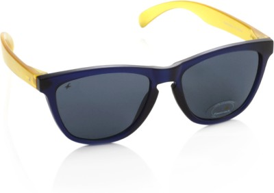 Fastrack PC003BK6 Wayfarer Sunglasses(Grey)