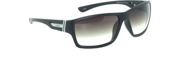 IDEE IDEE-2008-C6 Rectangular Sunglasses(Black)