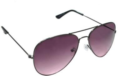 Sellebrity Elegant Classic Purple Aviator Sunglasses Aviator Sunglasses