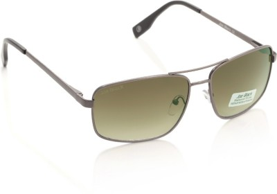Joe Black JB-602-C4 Rectangular Sunglasses(Brown)