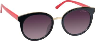 David Blake DBSG665 Round Sunglasses(Black)