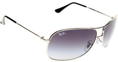 Ray-Ban RB3267003/8G Aviator Sunglasses(Grey) at flipkart
