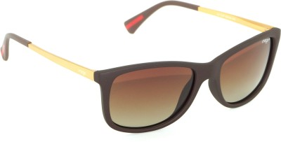 IMAGE IM-457-C3-P Wayfarer Sunglasses(Brown)
