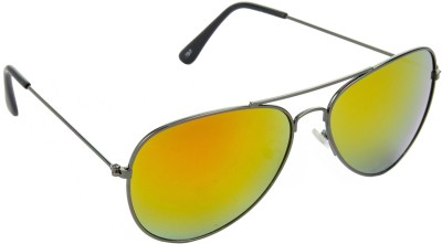 Red Leaf RD-BX140_1 Aviator Sunglasses(Yellow)