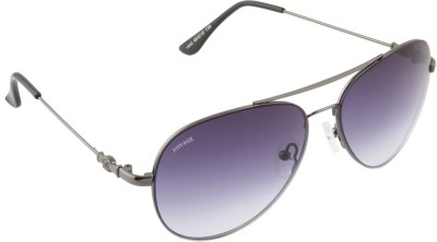 Voyage 1840MG1074 Aviator Sunglasses(Blue)