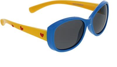 Vast KIDS_HEART_BLUE_YELLOW Cat-eye Sunglasses(For Boys)