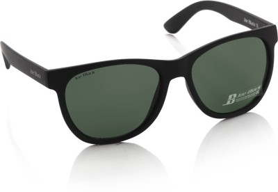 Joe Black JB-553-C5 Oval Sunglasses(Green)