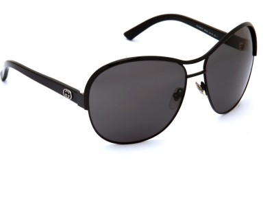 ac7b3fe48d12 GUCCI GG 2865/S 65Z Round Sunglasses Grey available at Flipkart for Rs.11976