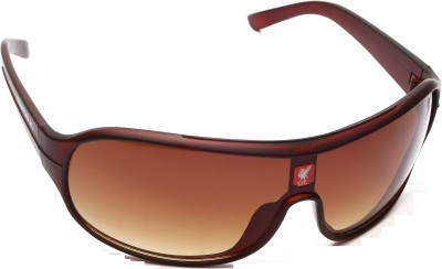 Liverpool FC Brown Wrap-around Sunglasses